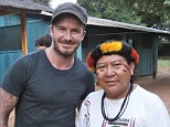 I'm a celebrity, get me in there: David Beckham and close friend Dave Gardener