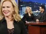 'The three most magical seconds of my life!': Nicole Kidman jokes about her infamous lapdance with Jimmy Kimmel