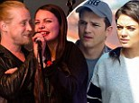 'Race to the alter!' Macaulay Culkin is in a rush to walk down the aisle with his Mila Kunis look-a-like girlfriend before his 'pregnant' ex marries Ashton Kutcher