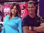 Sporty pair: Jesinta Campbell and Shannan Ponton were decked out in Asics gear for a promotional appearance for the company