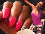 Mel B posts work out photo and super stylish manicure
