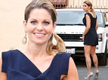 Legs for days! Candace Cameron Bure puts her perfectly toned pins on show in mini playsuit at DWTS rehearsal