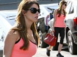 West Hollywood, CA - Ashley Greene made another visit this afternoon to the gym, she matched her black leggings with a pink top and New Balance sneakers. AKM-GSI          March 27, 2014 To License These Photos, Please Contact : Steve Ginsburg (310) 505-8447 (323) 423-9397 steve@akmgsi.com sales@akmgsi.com or Maria Buda (917) 242-1505 mbuda@akmgsi.com ginsburgspalyinc@gmail.com