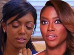 'She beat the c**p out out of her!' Real Housewives' Porsha Stewart 'gets in vicious brawl' with Kenya Moore during reunion taping