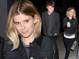 What would Max say? Kate Mara dines on vegan fare at Crossroads with mystery man