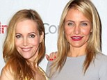 The Other Women! Cameron Diaz and Leslie Mann go very lady-like to spruik 20th Century Fox's new film schedule