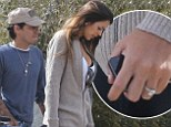 Are they engaged? Marc Anthony steps out with on-again love Shannon De Lima... who's sporting a HUGE diamond ring