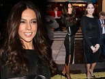 It's the frocky horror show! Terri Seymour suffers ANOTHER fashion fail at I Can't Sing launch as she arrives in the SAME fitted black dress as Lauren Silverman
