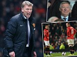 Making a point: Moyes has stated his predecessor at Manchester United Sir Alex Ferguson could have not done better this season