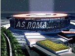 'Core of the city': Il Romanista was obviously impressed by the designs for the new stadium