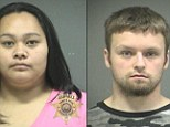 Oregon prosecutors said that in a Facebook message to her boyfriend, Brian Canady, Jessica Dutro complained that her toddler son Zachary was going to be gay because 'he walks and talks like it.'
