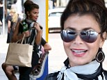 So you think you can shop? Paula Abdul is a monochrome maven as she hits Sydney's premiere shopping district
