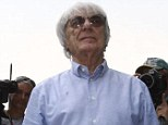 Centre of attention: Bernie Ecclestone, in Malaysia this weekend, could be staging a heist of the sport