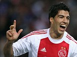 Missed opportunity: When Luis Suarez was at Ajax, Tim Sherwood had the chance to sign him