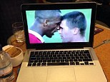 Which player is getting psyched for Man City's trip to Arsenal by watching Vieira and Keane's fierce face off?