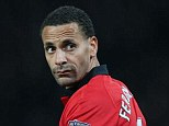 Looking back in anger: Ferdinand says he does not want to see someone else win the title this season