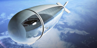 Dirigible Drones Will Watch the World From 13 Miles Up