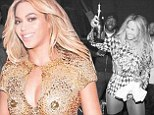 Cheers, we did it! Beyonce shares all the intimate backstage moments and racy outfits of her Mrs. Carter Show as the world tour as it finally comes to an end