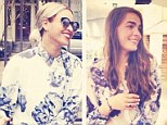 Beyonce vs Bambi: Bambi Northwood-Blyth posted this photograph on Instagram of herself wearing the same shirt as Beyonce