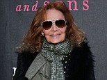 A screen near you: Diane Von Furstenberg (pictured earlier this week in New York) will star in her own E! docu-series
