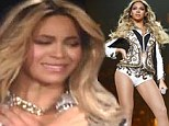 'I'm giving y¿all an ugly cry': Beyonce breaks down in front of fans as her smash Mrs Carter tour finally comes to an end