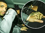 Rihanna holds Drake's hand as they leave Tramp in the early hours of the morning... following Canadian rapper's final UK show