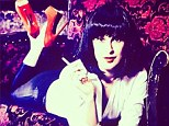 Rumer has it she's playing Mia Wallace! Bruce Willis' daughter poses in black wig as Uma Thurman's Pulp Fiction character