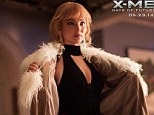 Opening up: Jennifer Lawrence reveals her slim and toned figure in new still for X-Men: Days Of Future Past