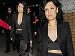 Celebrating in style: Jessie J marks her 26th birthday with a party at Oslo bar in Hackney