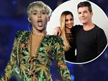 'Simon has more change of getting Elvis or Gandhi as a judge': Miley Cyrus laughs off reports she is set to join the X Factor