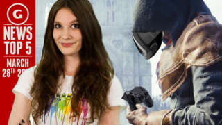 GS News Top 5 - New Assassin's Creed + PS4 Memory Power Detailed!