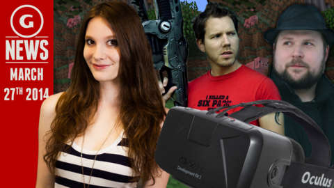 GS News - CliffyB Attacks Notch over Oculus, Last Of Us Coming To PS4?