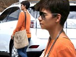 Working mom! Halle Berry looks great post-baby as she arrives on set of new show Extant
