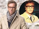 The Ipcress Copy: Damian Lewis is spitting image of Michael Caine's iconic character Harry Palmer as he films Our Kind of Traitor
