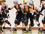 Team spirit: The Derby Dolls, an all-girls roller skating team, is taking Los Angeles by storm with its ruthless, entertaining games and take-no-prisoners attitude
