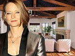 Jodie Foster slashes asking price on her Hollywood Hills mansion by $650k after it fails to sell at $6.4m asking price