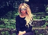 Beyonce takes time out for a moment of quiet reflection as her epic Mrs Carter Show world tour FINALLY comes to an end