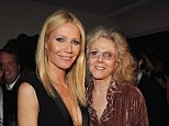 'Really upset:' Blythe Danner, 71, is said to have begged daughter Gwyneth Paltrow not to divorce Chris Martin, pair pictured in 2012 in LA