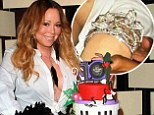It can't get much blingier: Nick Cannon bought Mariah Carey a diamond encrusted bracelet for her birthday, two days after dishing the dirt about sex with Kim Kardashian
