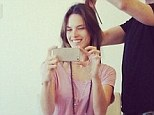 'Starting my weekend with a fresh haircut!' Alessandra Ambrosio chops off her flowing locks in favour of a shorter 'do