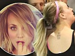Marriage makeover: Newlywed Kaley Cuoco chopped off her long blonde locks on Saturday