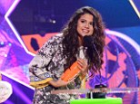 Come & Get It! Selena Gomez scored favourite female singer at the 27th annual Nickelodeon Kids' Choice Awards, which aired live Saturday from the USC Galen Center in Los Angeles