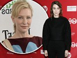 Cate Blanchett and Rooney Mara left 'screaming at the top of their lungs' after terrifying car accident on set of lesbian-romance drama Carol