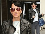 Lily Allen looks rock star chic at the Vogue Festival
