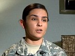 Denied: Kayla Reyes claims that when she interviewed for a position at Macy's she was told that her service in the Army made her ill-suited for the job