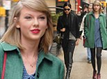 Beautiful friends: Taylor Swift and Lily Aldridge got to spend some quality time together in New York City on Friday - engaged in conversation as they took to the streets