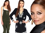 Nicole Richie and House of Harlow 1960 new spring line.