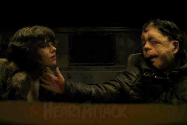 No joke: Adam Pearson stars alongside Scarlett Johansson in her new Hollywood blockbuster Under The Skin where they both shed their clothes