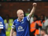Saviour: Steven Naismith came off the bench to be Everton's match winner