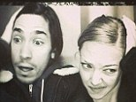 Friday fun? Amanda Seyfried and Justin Long posed for a 'sleepy' photo booth snap on Friday